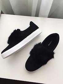 3d36bc96461 Som sagt så köpte jag dessa på hemsidan men om man vill köpa dom i butik så  köper man dom på Dinsko. Det är ett par svarta Slip In's med päls i ...