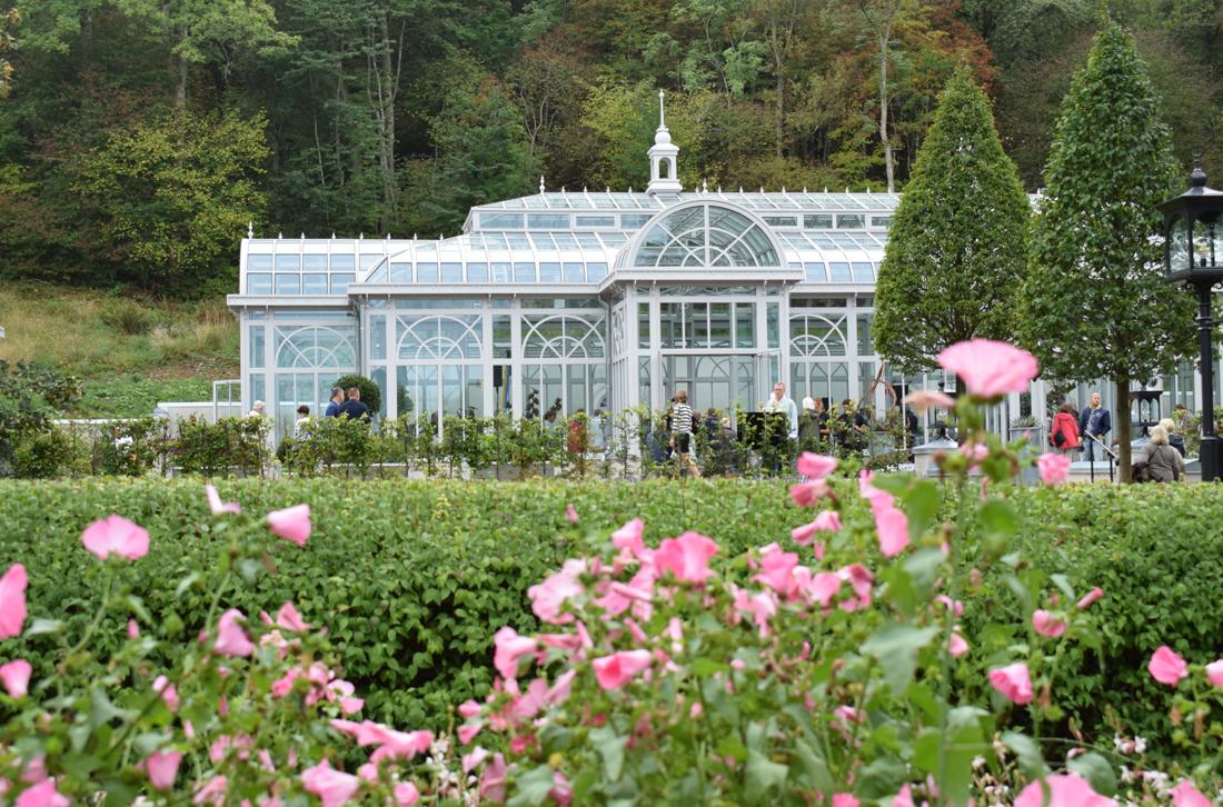 Invigning av växthus och köksträdgård i Norrviken Båstad