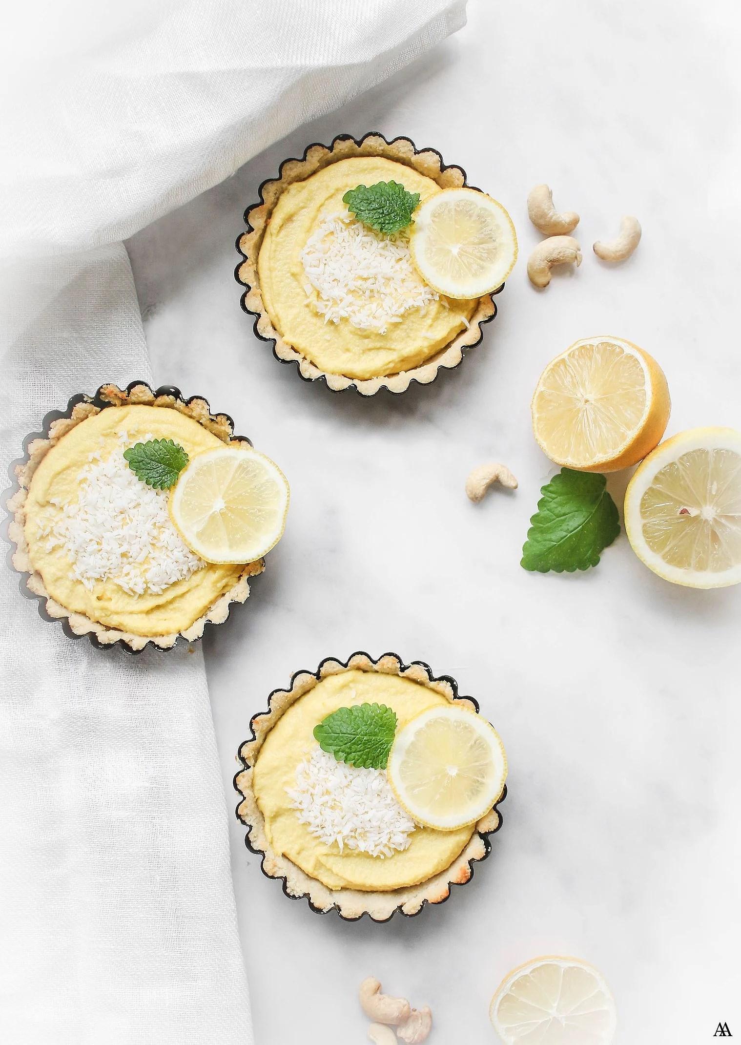 Vegansk Citronpaj