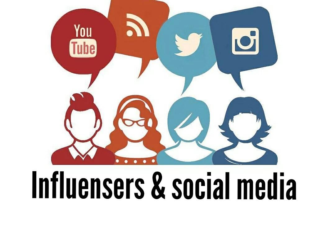 Influensers & social media