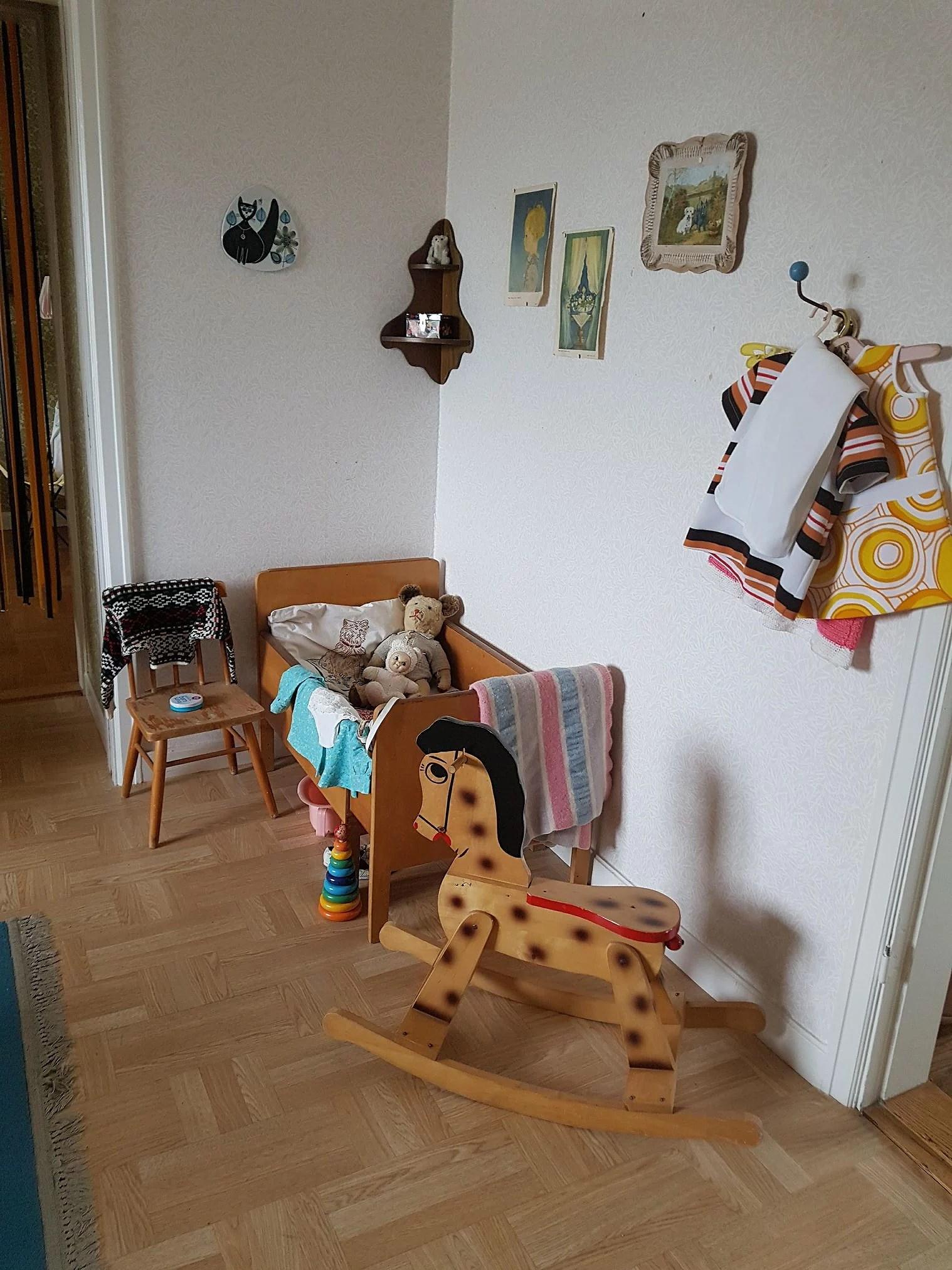 Vi hamnade i en lägenhet från 60-talet