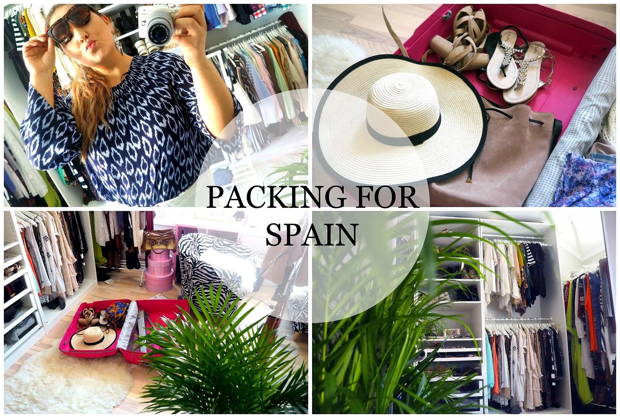 VIDEOBLOGG: bli med meg og pakk til Spania