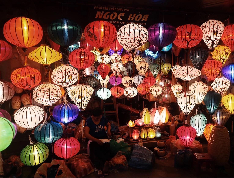 Hoi An och Ho Chi Minh