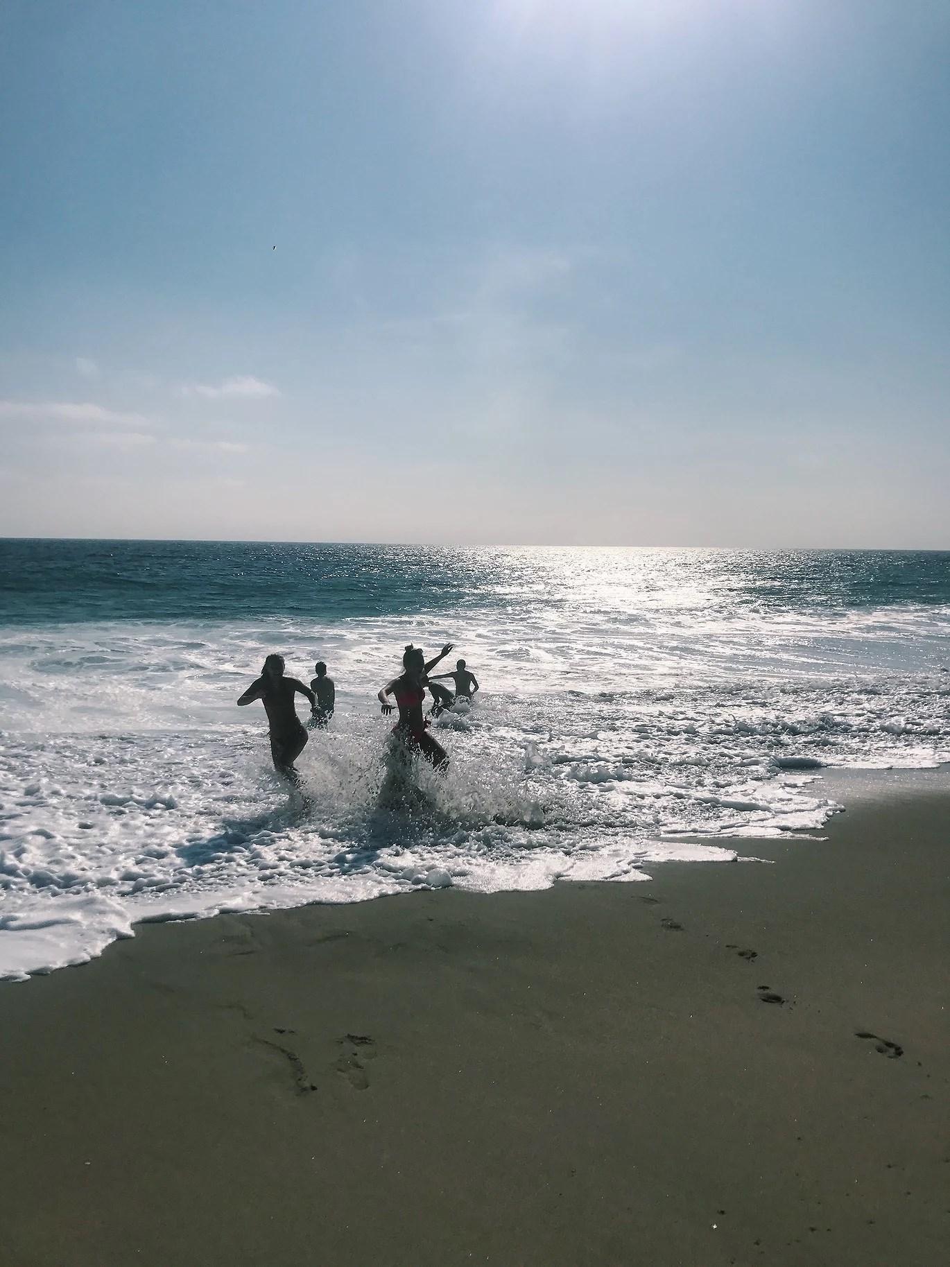 Första veckan i Kalifornien
