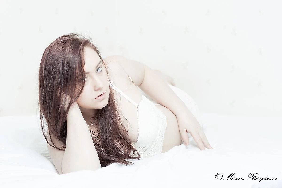 Modellplåtning på Sara!