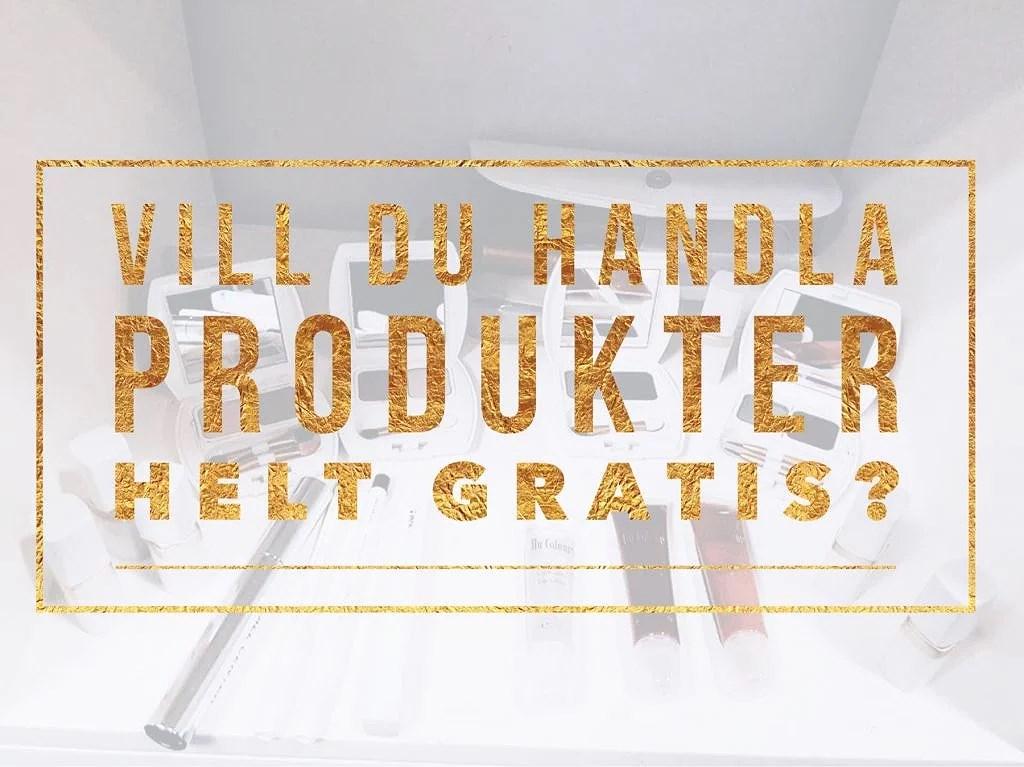 Handla produkter gratis