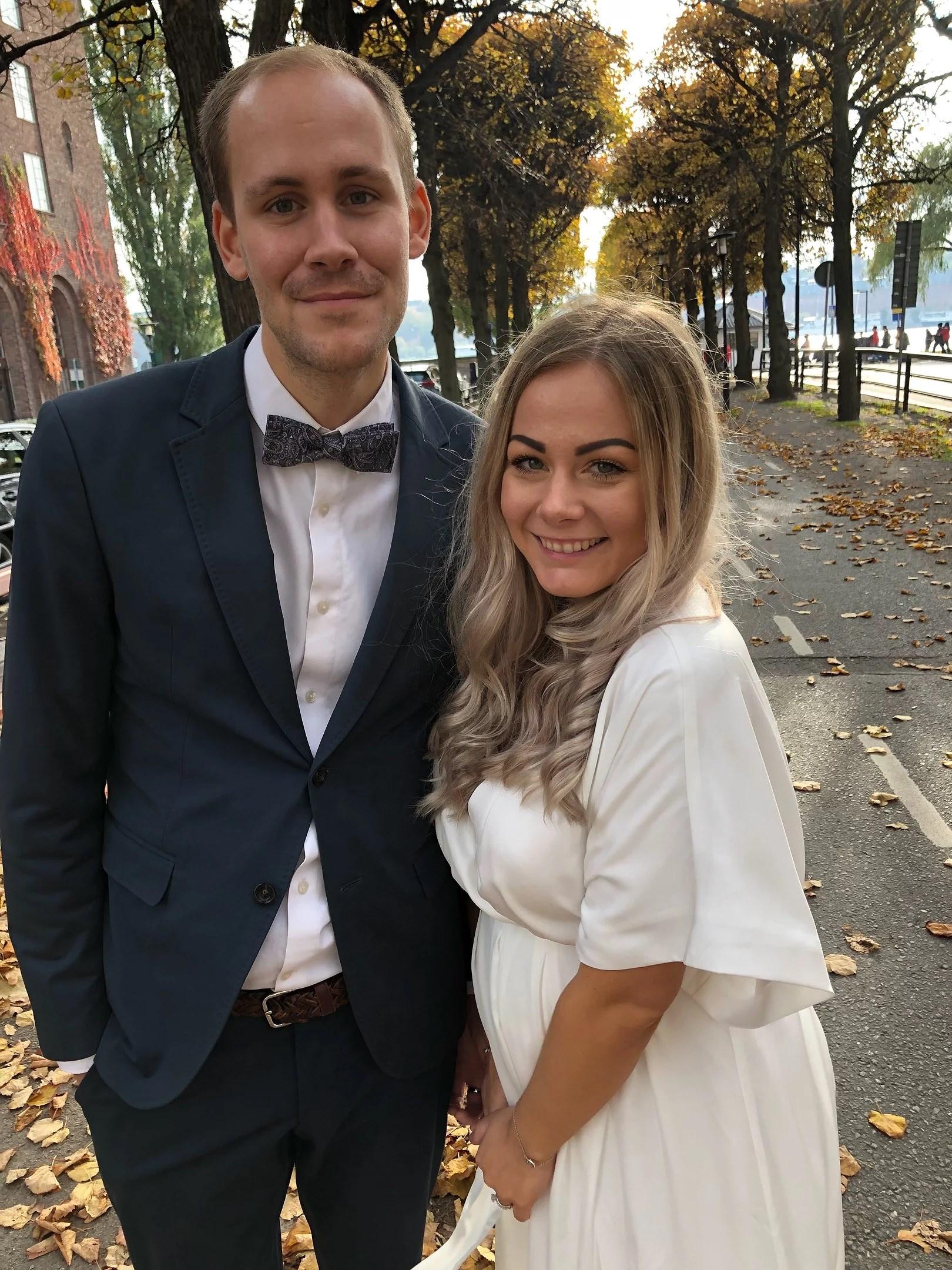 Mr & Mrs Gyllenberg.