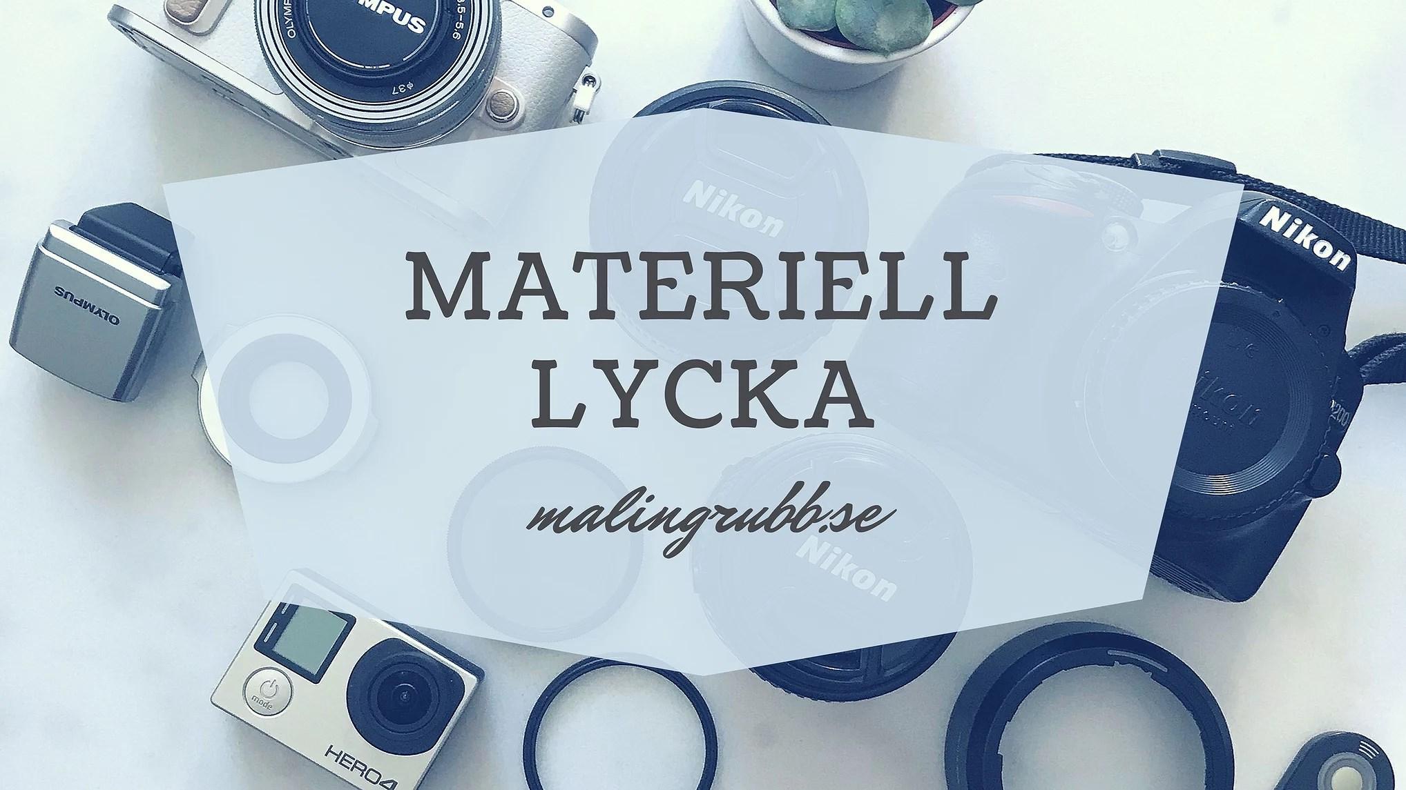 Materiell lycka