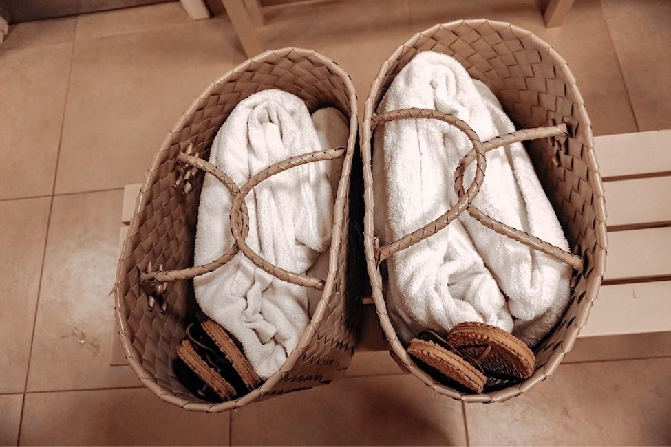 Taske, Håndklæder