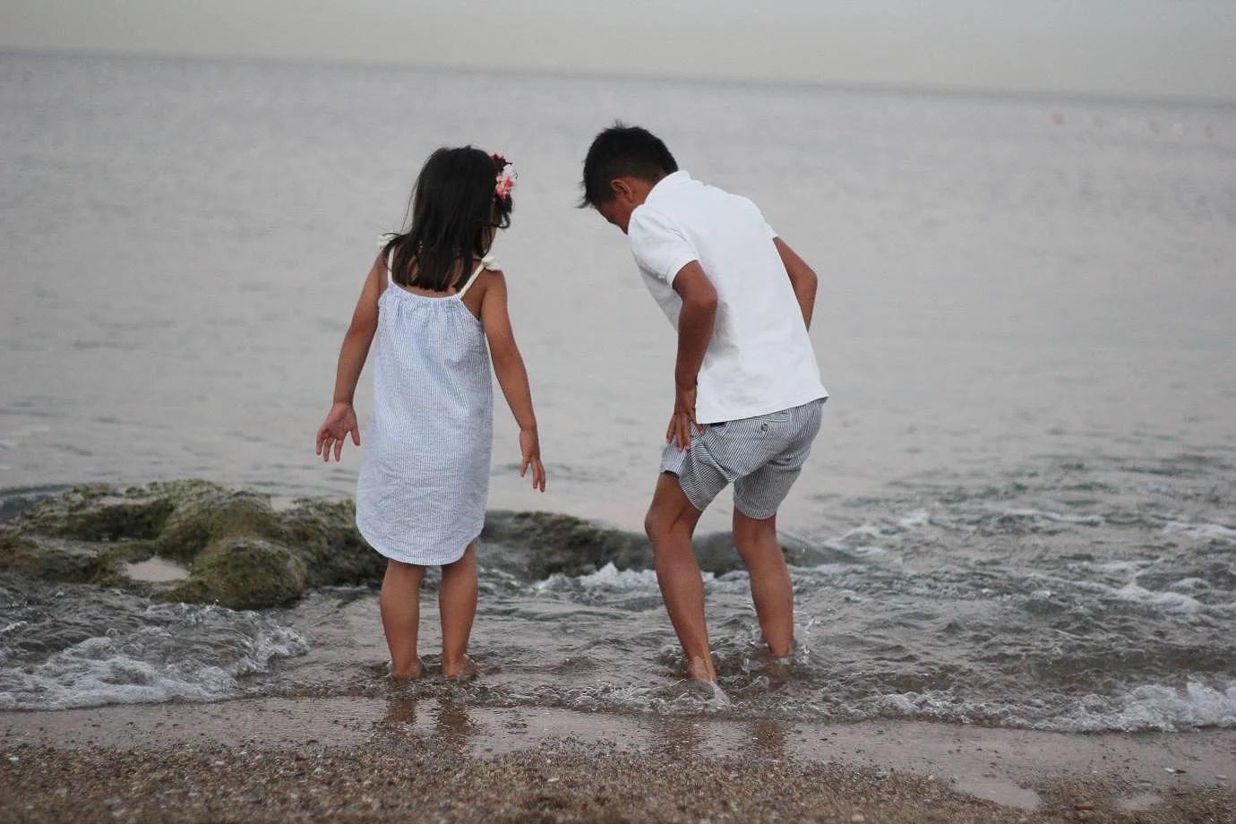 En kvällspromenad vid havet - Rhodos!