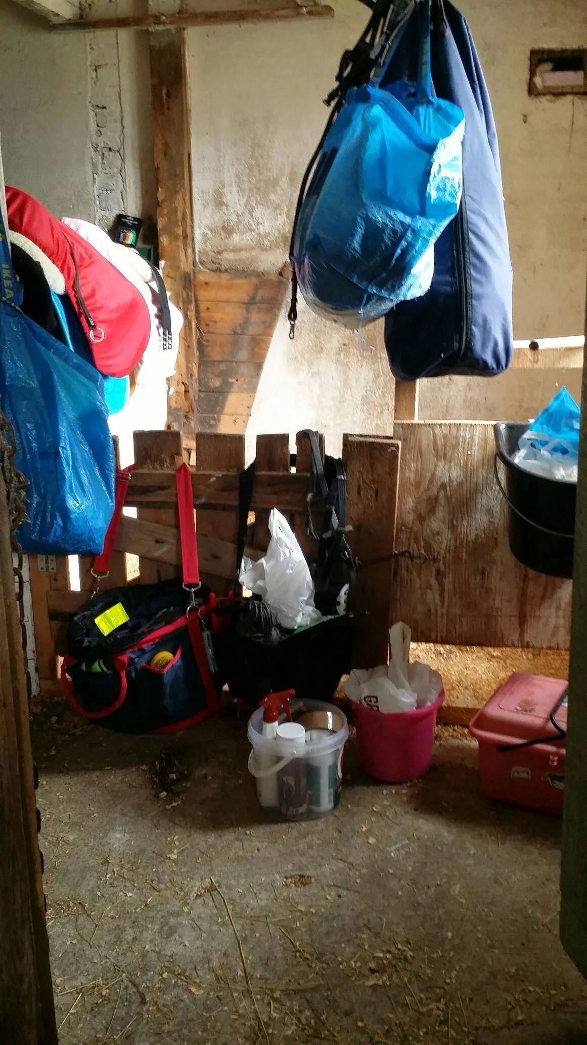 Mina saker i stallet