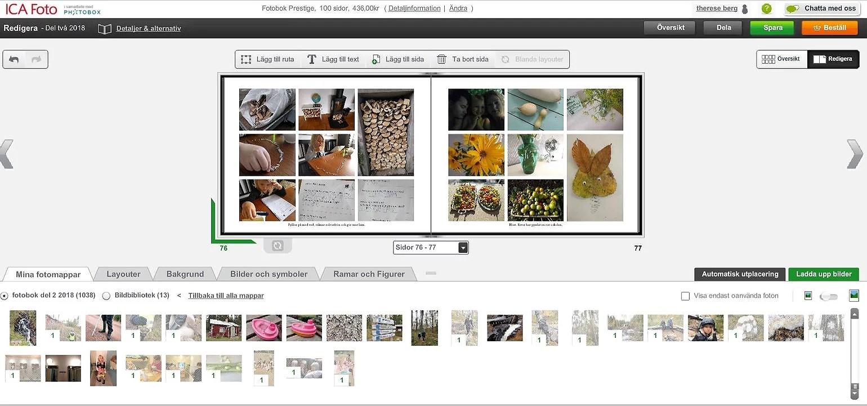 Fotobok med rabatt på extra sidor ica foto samt gratis emaljmugg med kod.