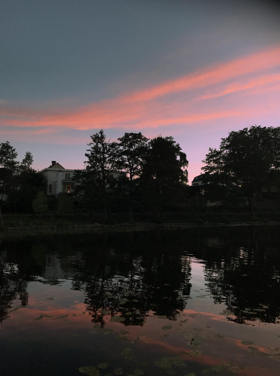 Sky, pretty as you