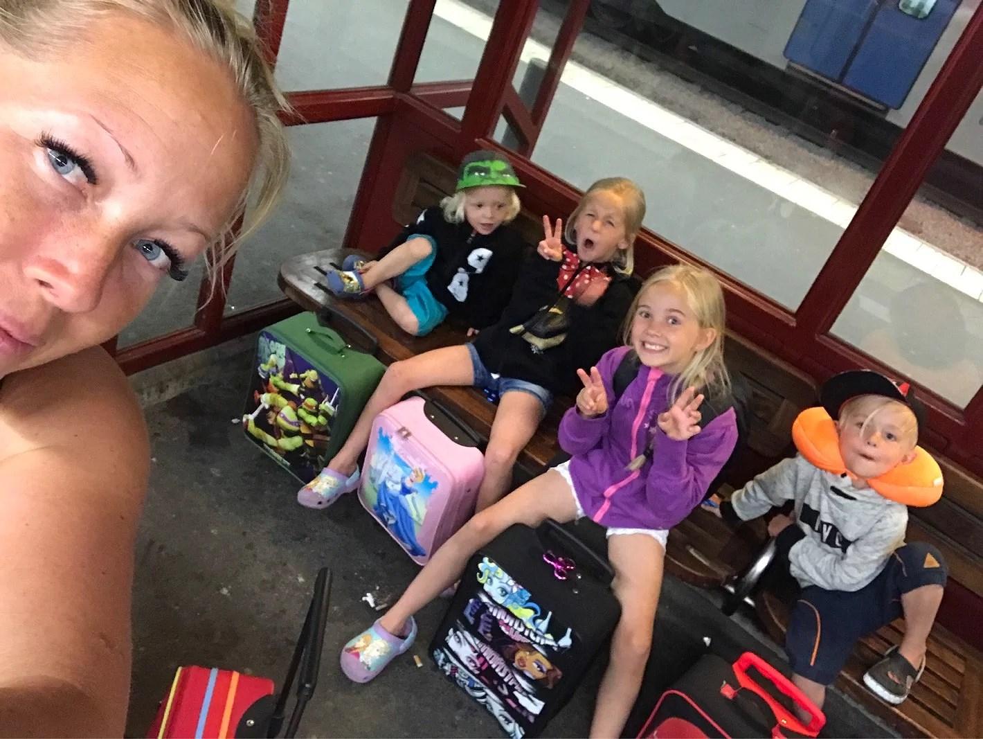 Nu är vi på väg mot Norrland!!