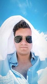 Ludvig på stranden