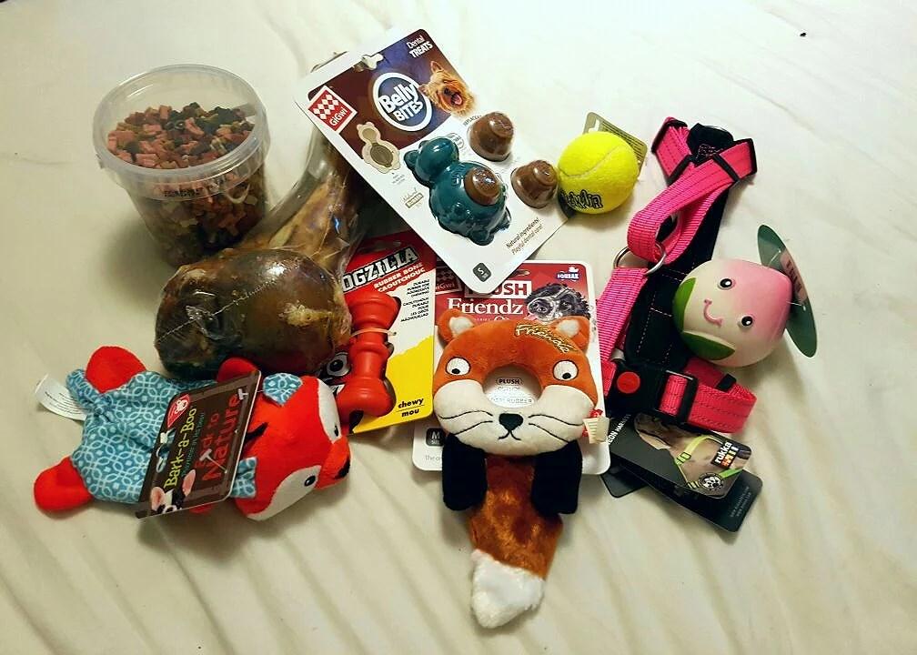 Leksaker, mer leksaker.
