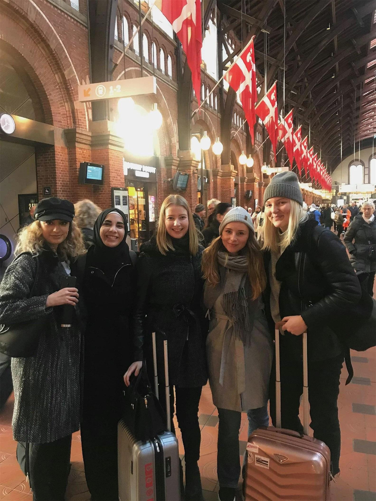 På besök i Köpenhamn