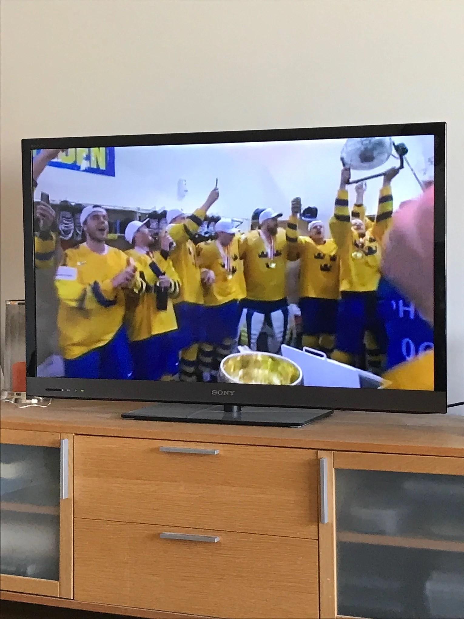Sverige i Kungsträdgården 🇸🇪🏆🥇