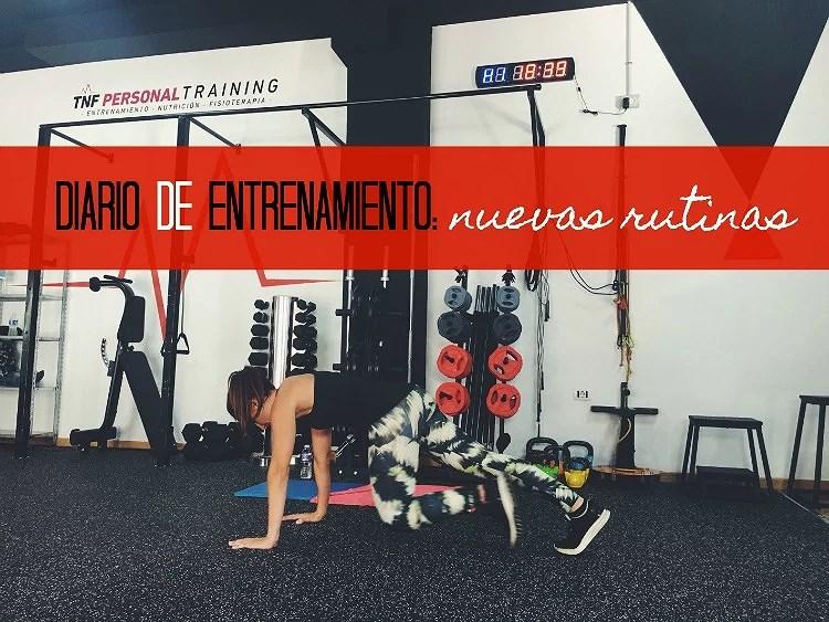 Diario de entrenamiento: Nuevas rutinas con Tenerife Personal Training