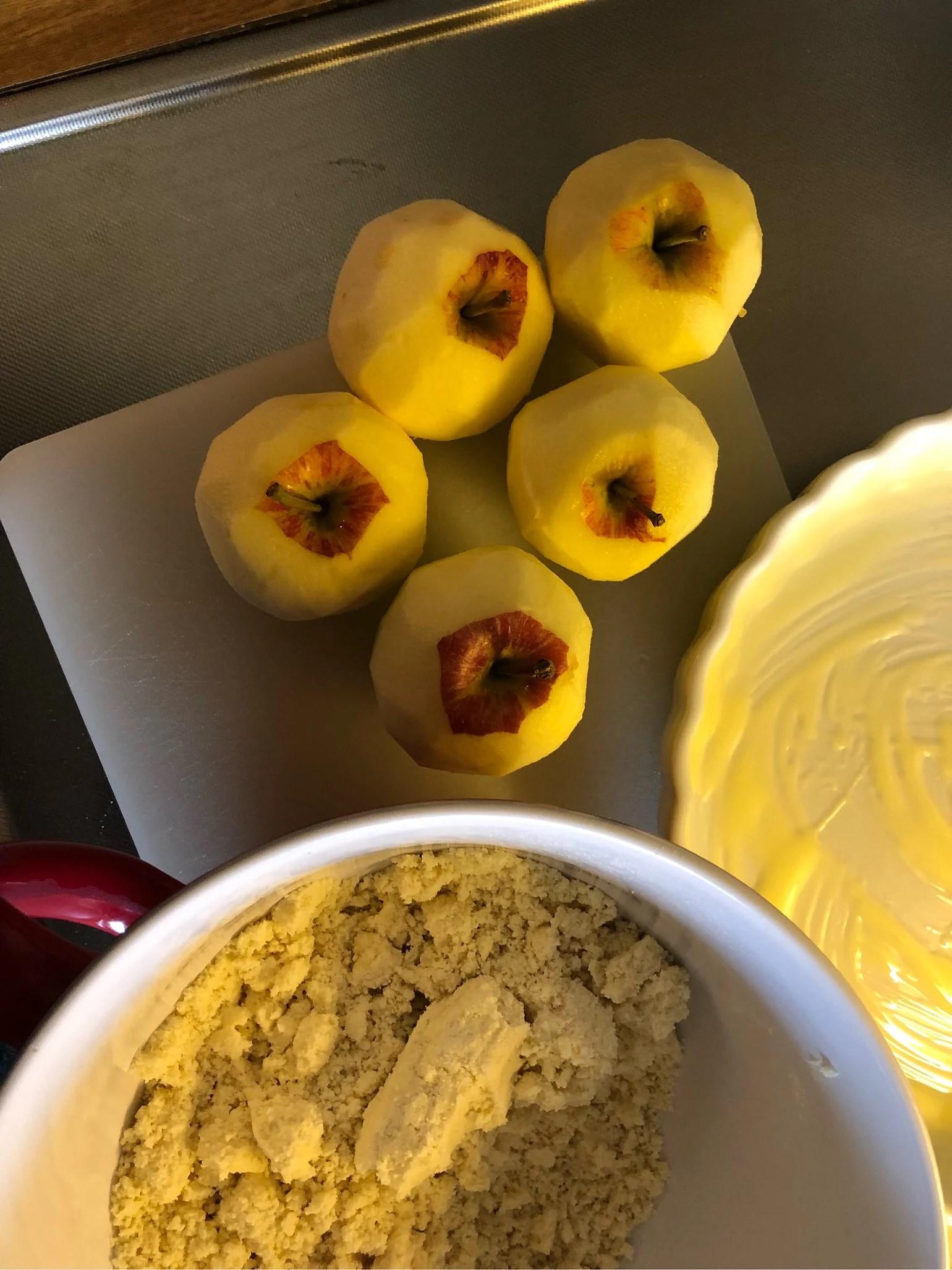 Apple pie piece