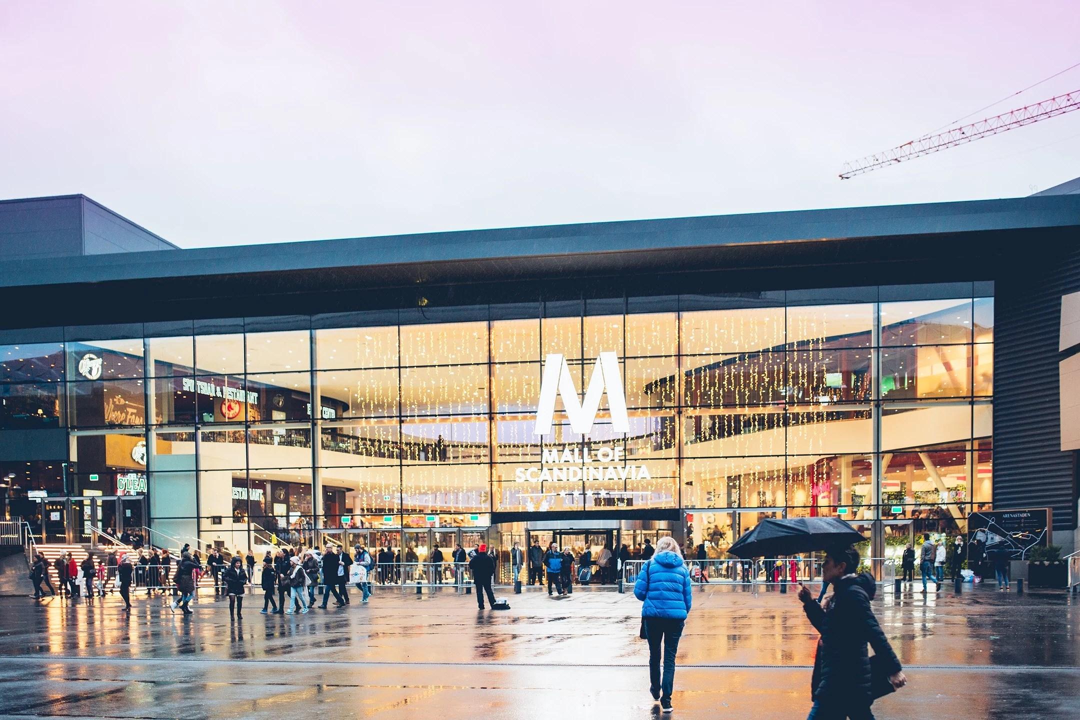 En söndag i Mall of Scandinavia