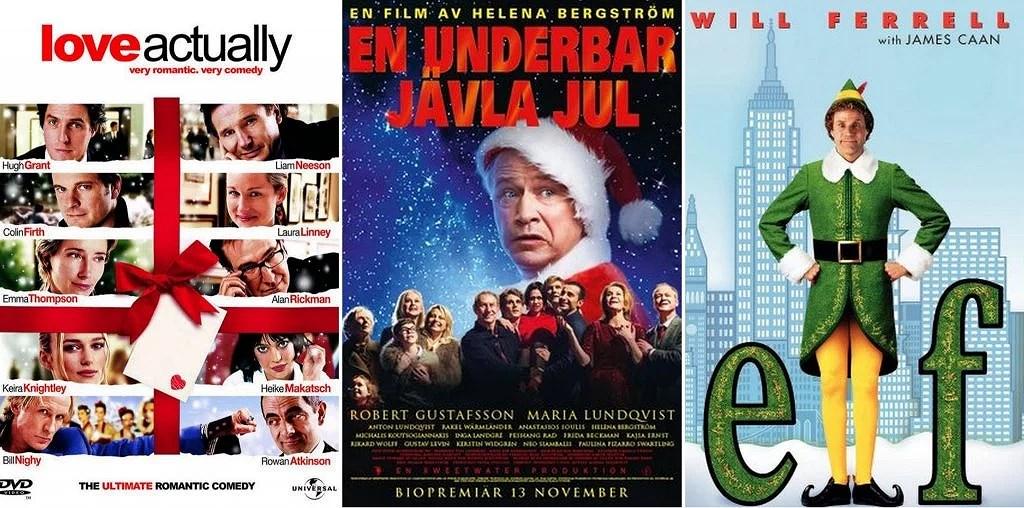 TIPS PÅ MYSIGA JULFILMER - DEL 1