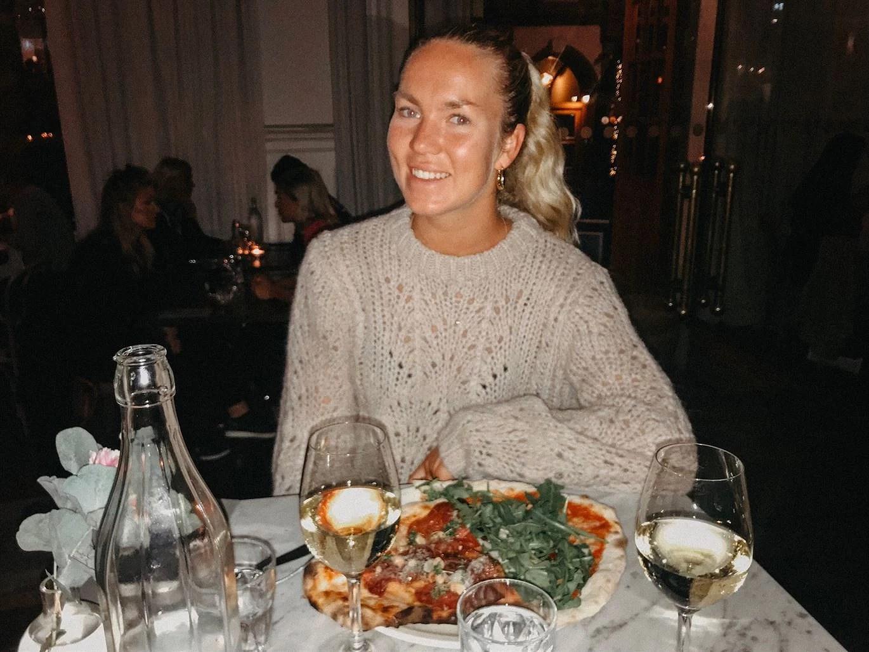 Middag på Taverna Averna