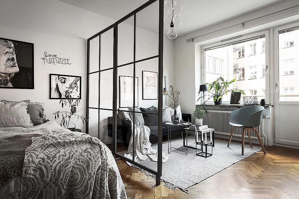 Att inreda en liten lägenhet