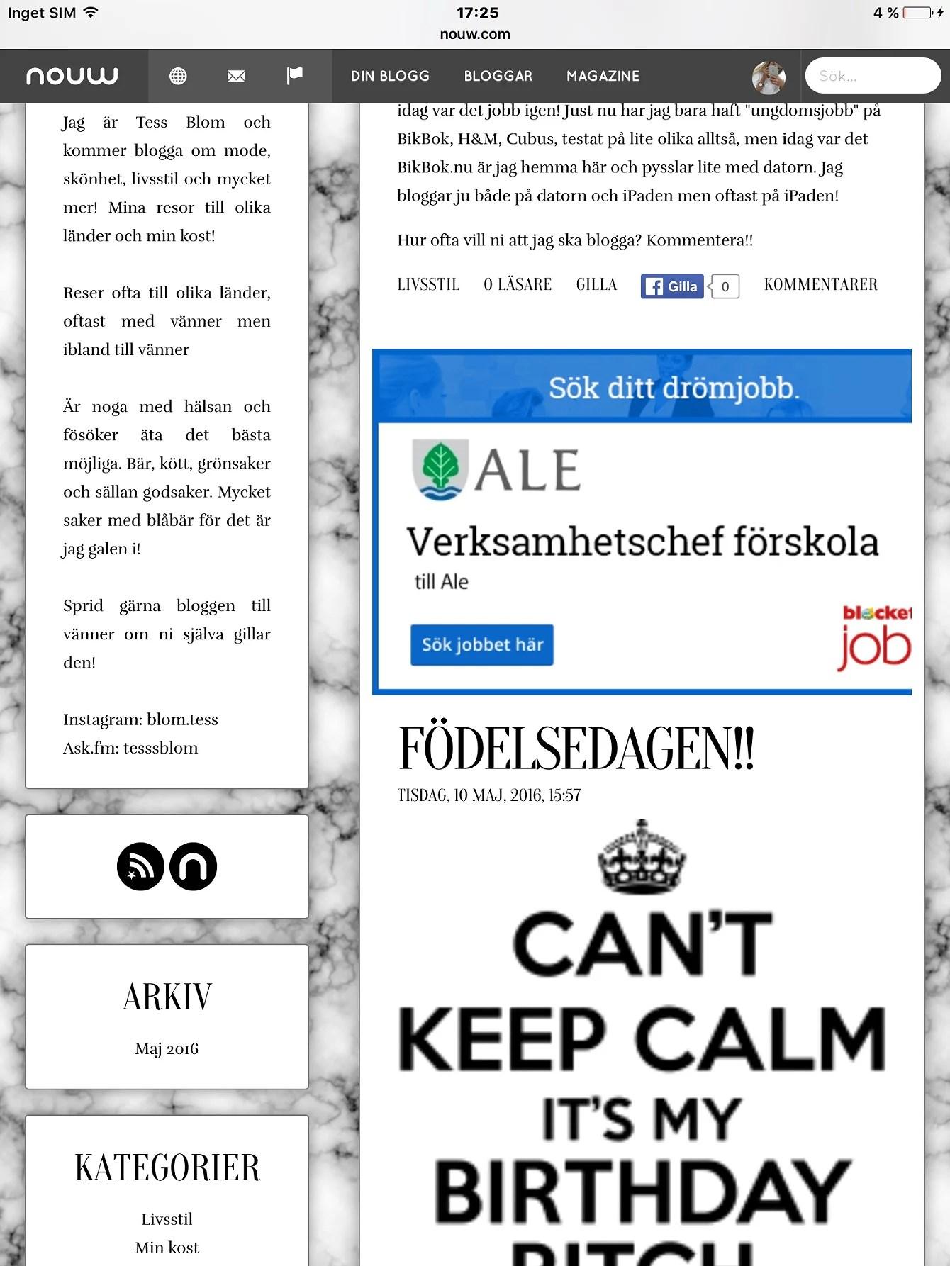 Ny stil på bloggen!!