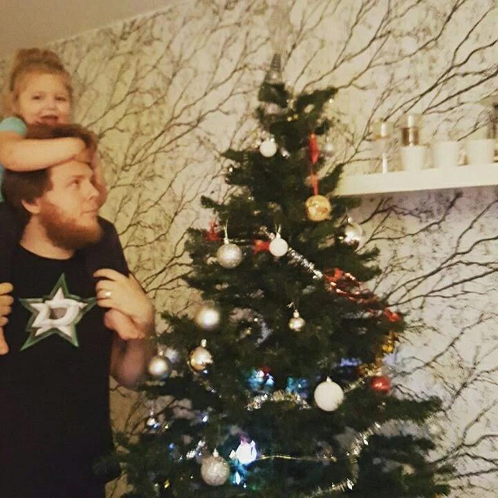 Julen flyttar in!
