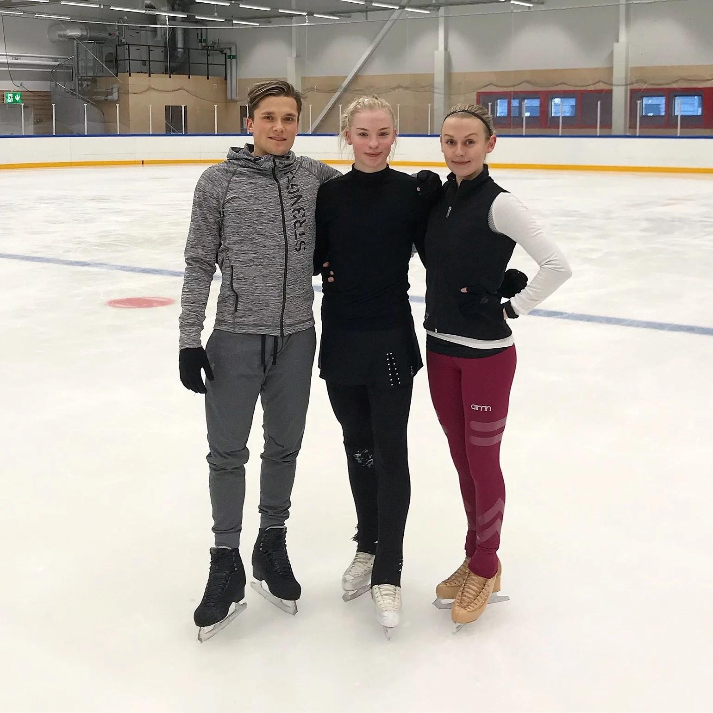LAST PRACTICE IN SWEDEN