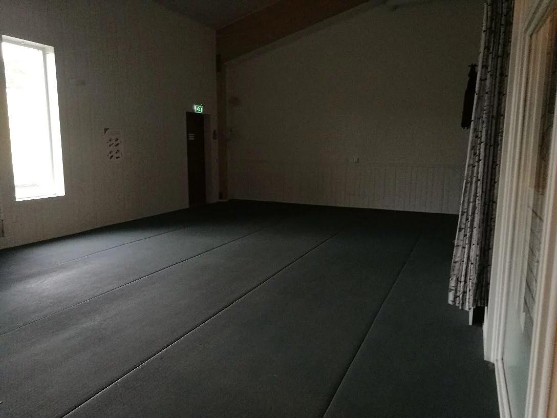 En dag i hallen.