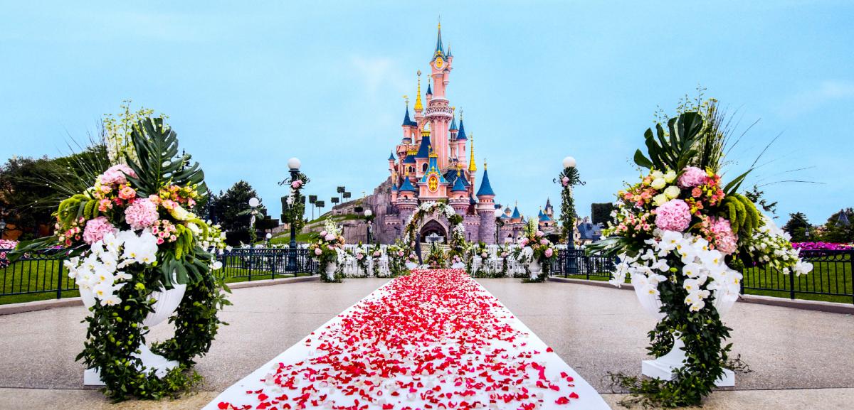 Nu kan du gifta dig på Disneyland Paris