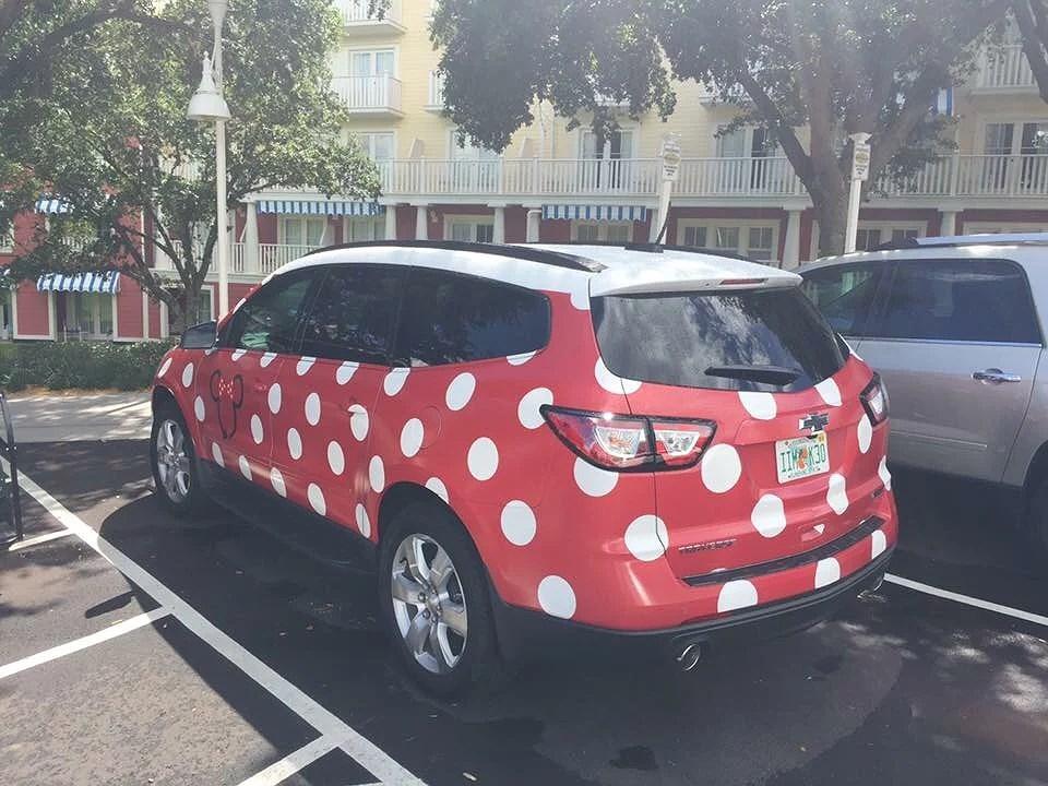 Minnie Vans - ny transport för Walt Disney World