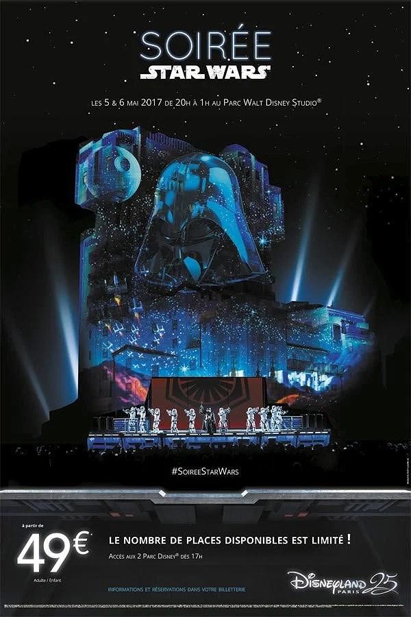 Star Wars Nights på Disneyland Paris