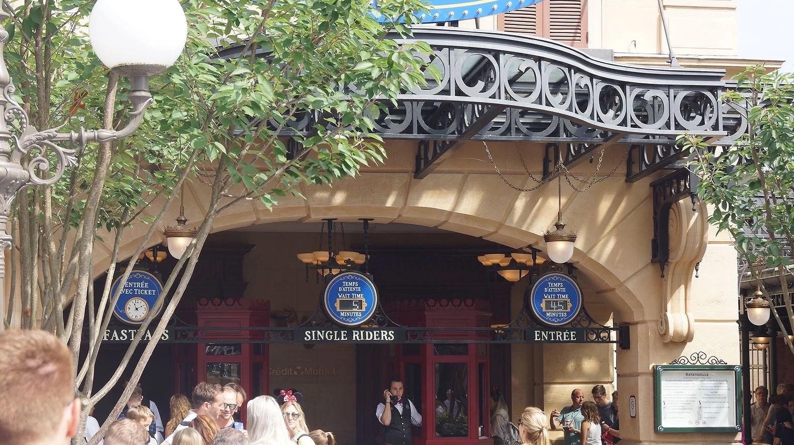 Single Rider kö på Disneyland Paris