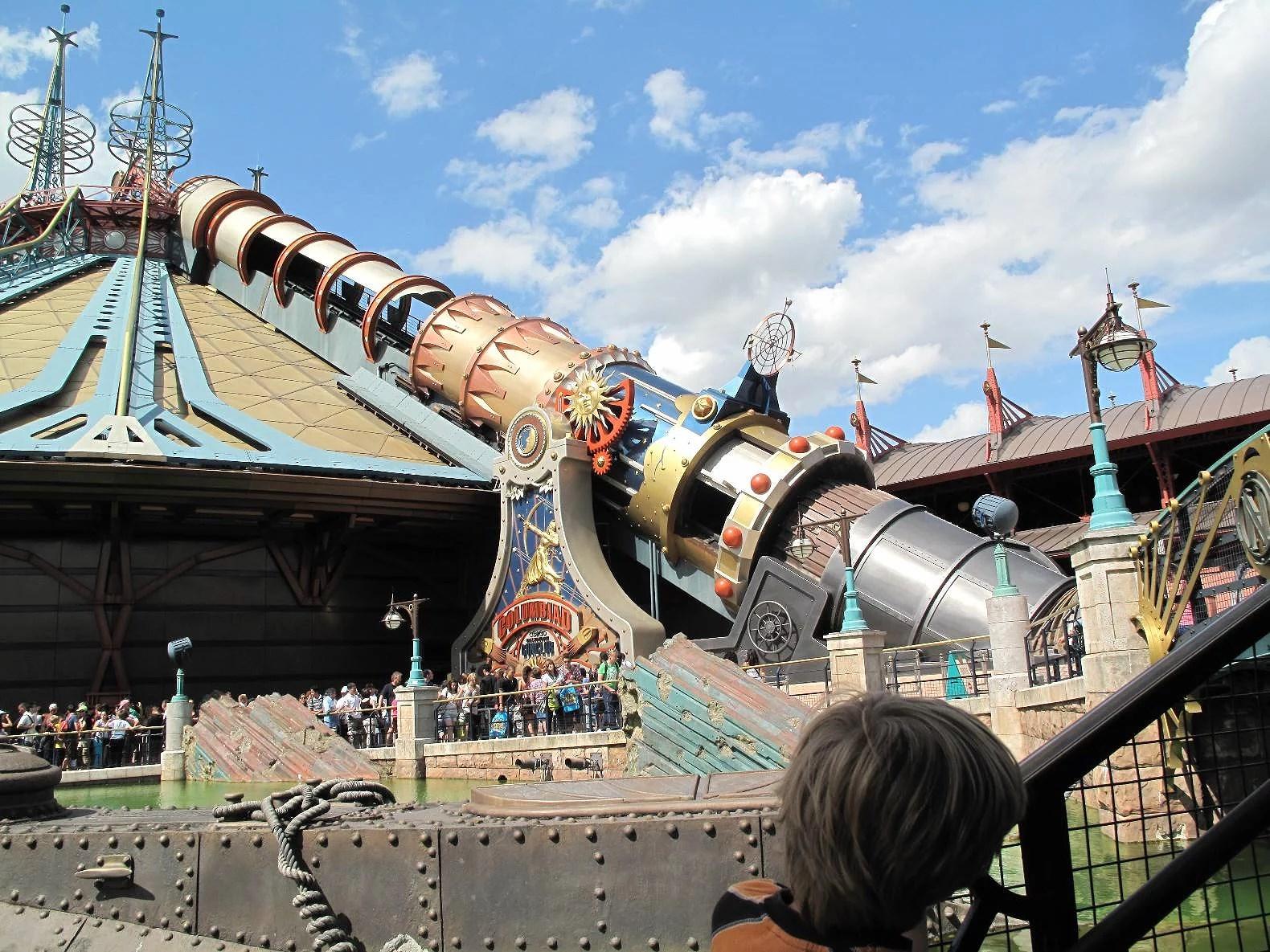 Topp 7 - de mest intensiva attraktionerna på Disneyland Paris