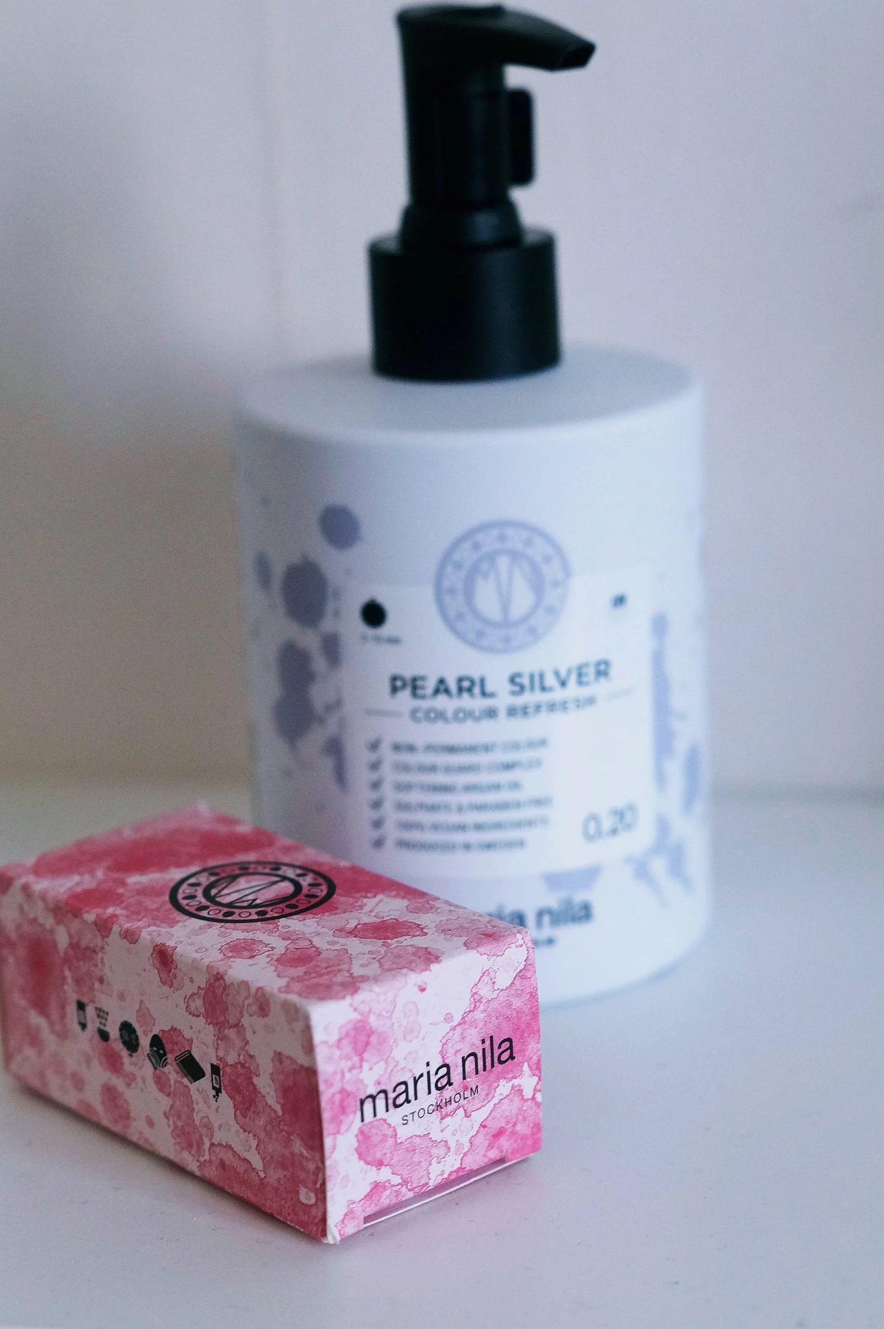 Maria Nila pearl silver