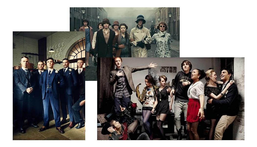 Skins & Peaky Blinders - My favorite british dramas!