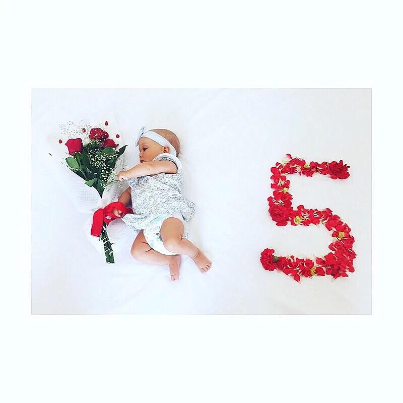 Melody 5 månader