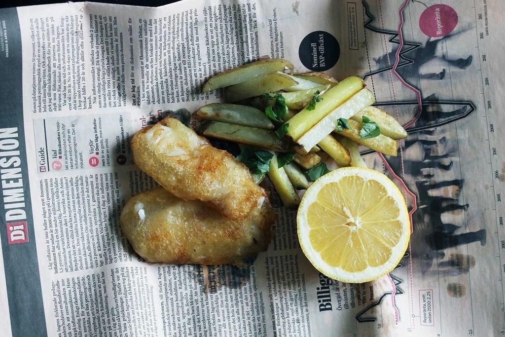 Glutenfri fish n chips