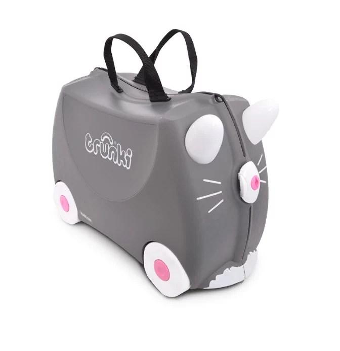 Letar efter en resväska för barn!