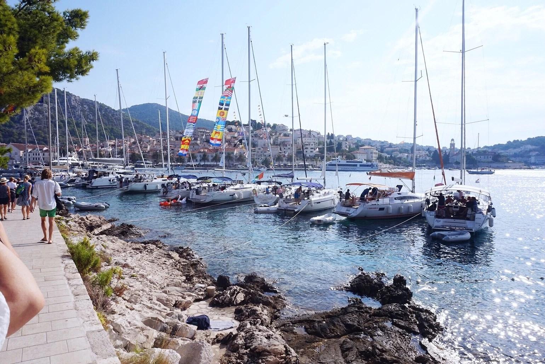 Hvar Kroatien - andra dagen