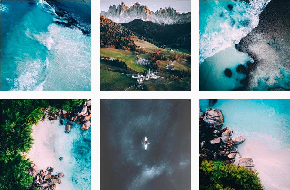 Three favorites on Instagram: TRAVEL