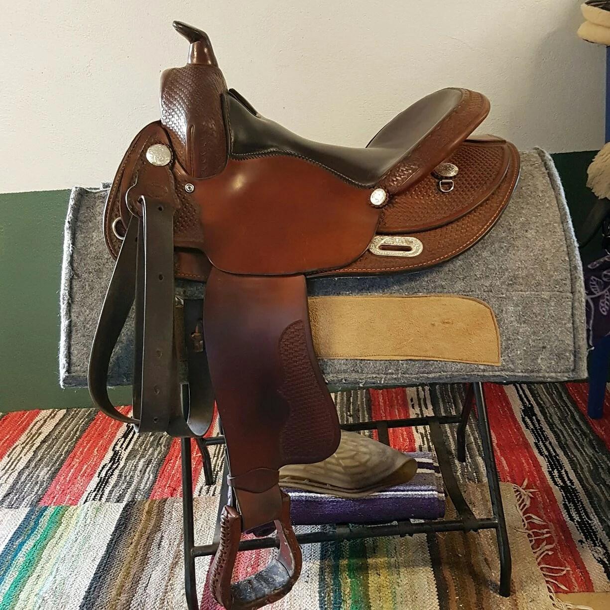 Idag skall jag pröva sadel