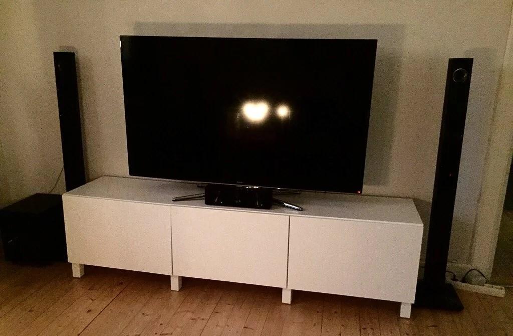 Ny tv-bänk