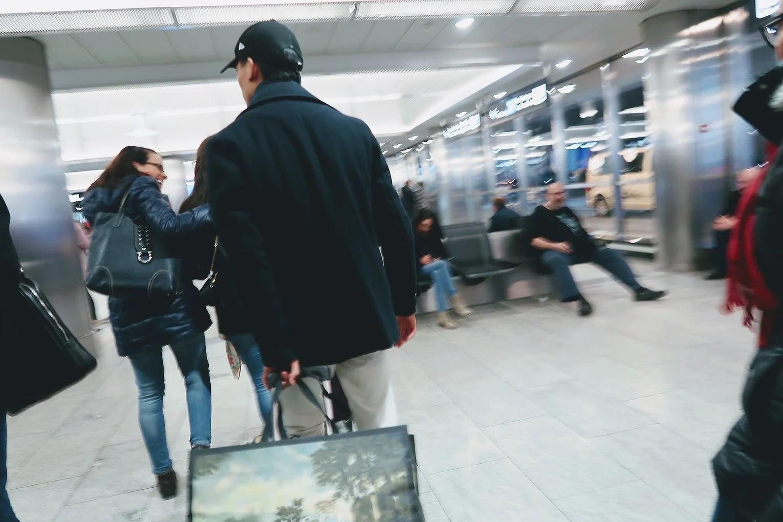 Day 1 - Zürich Airport