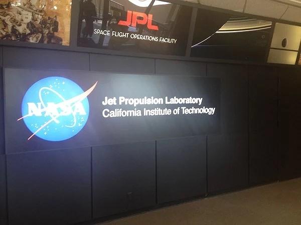 A special visit at NASA