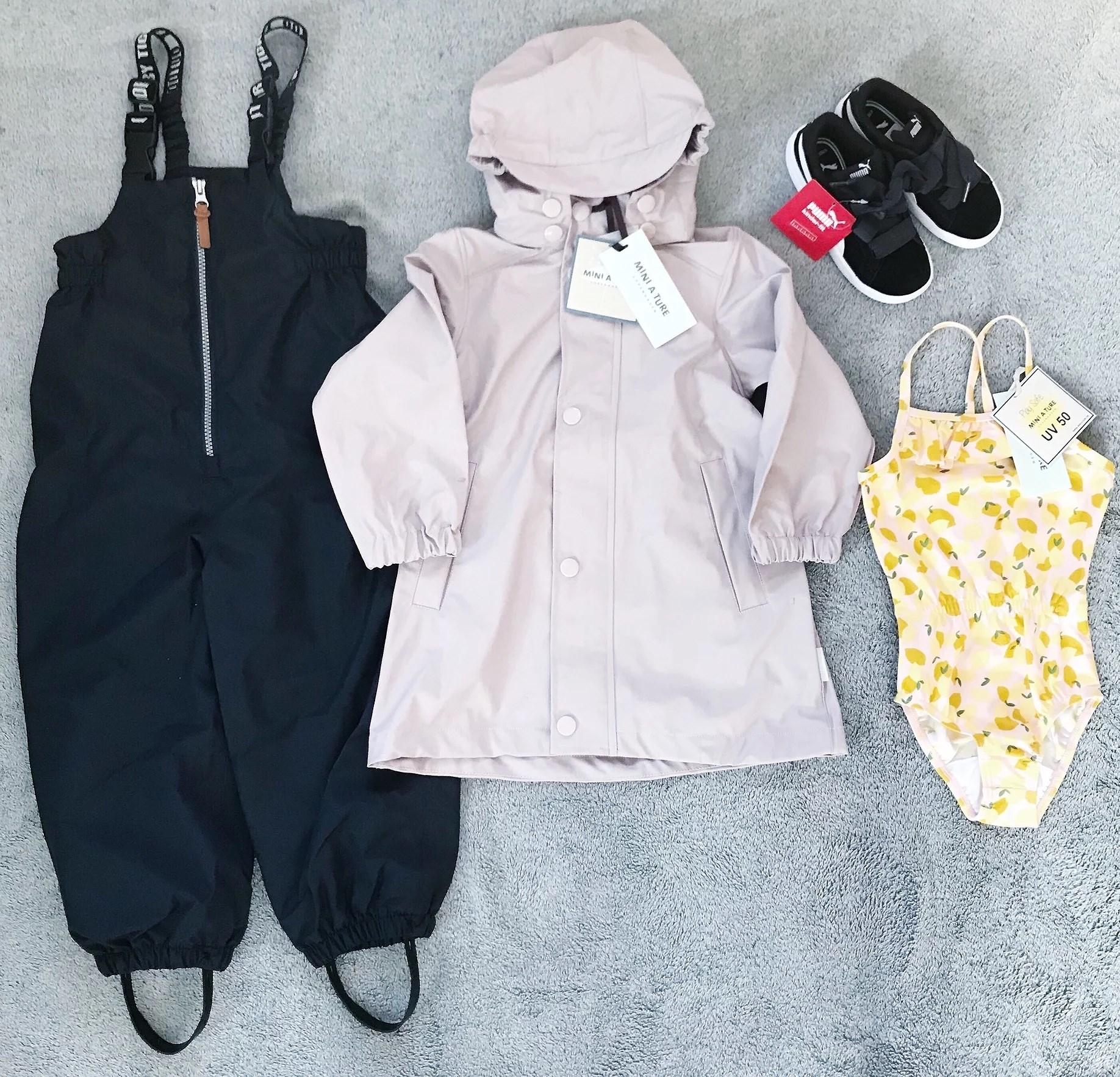 Ny vårgarderob till liten