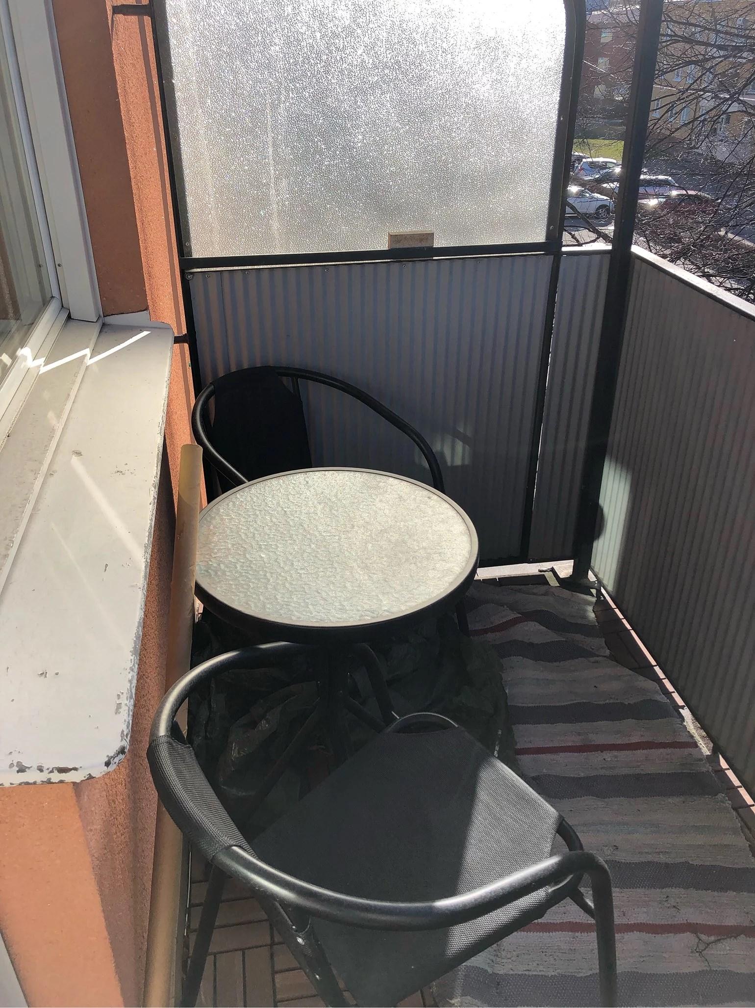 Fixa balkongen
